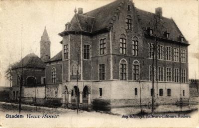 Kasteel Vieux Manoir , Staden, 1900