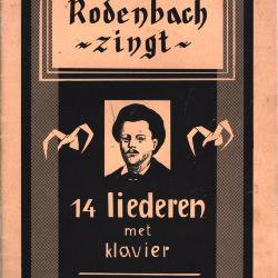 Rodenbach zingt 14 liederen met klavier, Roeselare, 1955