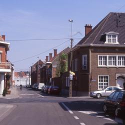 Kruispunt Cichoreistraat - Hugo Verrieststraat, 1997