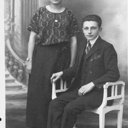 Huwelijksfoto Jerome en Emma Devos