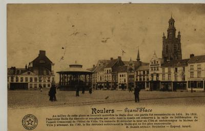 Postkaart Roeselare 'Grand Place'