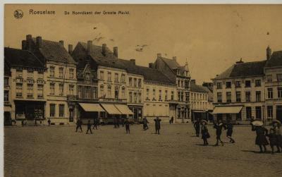 Roeselare ' De Noordkant der Groote Markt'