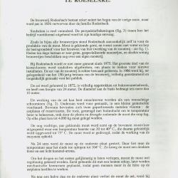 Brochure De Mouterij van de Brouwerij Rodenbach te Roeselare.