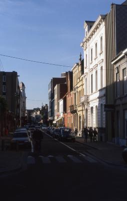 Straatzicht Delaerestraat, 1997