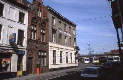 Straatzicht Hendrik Consciencestraat en Bourgondisch Hof, 1997