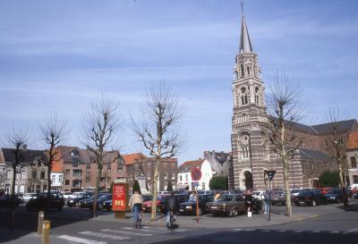 De Coninckplein en Sint-Amandskerk, 1997