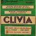 """Affiche van de Toneel- en Operetteopvoering """"Clivia""""  door het  Roeselaars Koninklijk Lyrisch Gezelschap """"Kunst Veredelt"""", Roeselare, 1974"""
