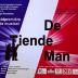 """Affiche van de Toneel- en Operetteopvoering """"De Tiende Man"""" door het  Roeselaars Lyrisch Gezelschap """"Kunst Veredelt"""", Roeselare, 2008"""