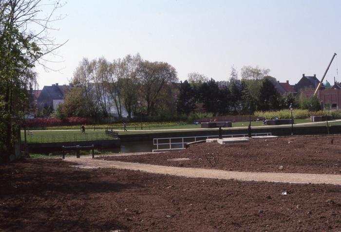 Aanleg park Grote Bassin, 1997