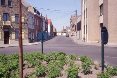 Straatzicht Doorgangsstraat, 1997