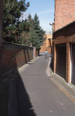 Straatzicht Duivestraat, 1997