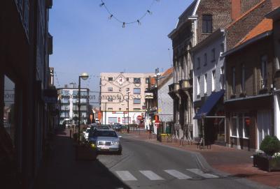 Straatzicht einde Noordstraat, 1997
