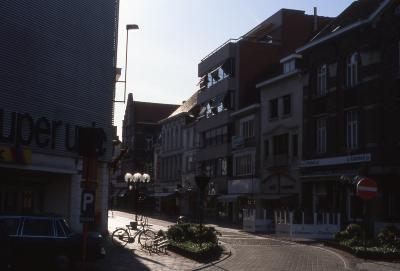 Straatzicht einde Ooststraat, 1997
