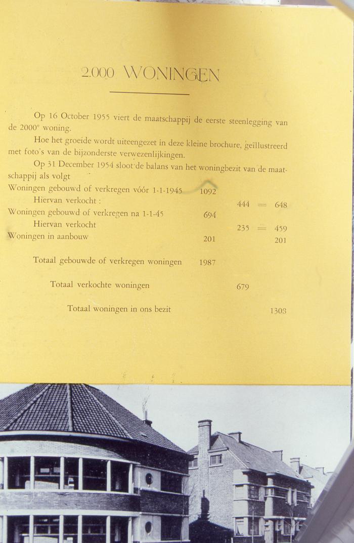 2000e Mandelwoning Toekomststraat, 1955