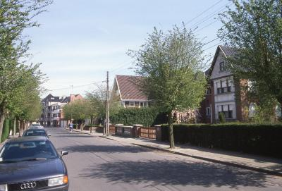 Straatzicht Adriaan Willaertstraat, 1997