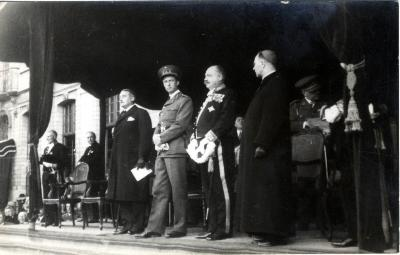 Bezoek Koning Leopold III aan Roeselare, 1937