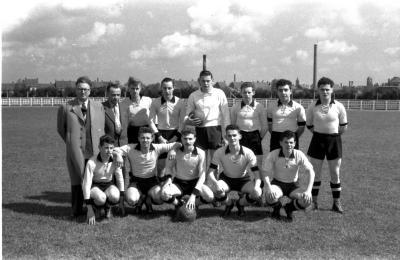 Junior voetbalploeg Rac Doornik, Izegem 1957