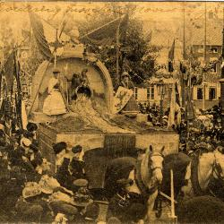 Rodenbachstoet, verbroedering noord en zuid, 1909