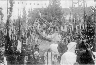 Rodenbachstoet, wagen van de zeekoning, 1909