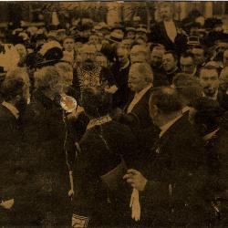 Rodenbachstoet, redevoeringen, 1909