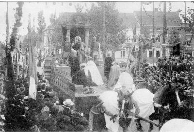 Rodenbachstoet, wagen Boudewijn van Vlaanderen, 1909