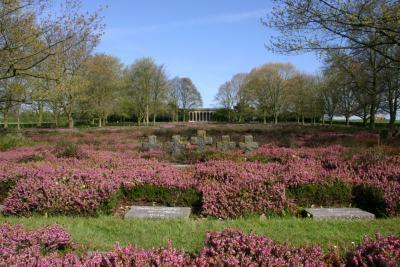 Duits militair kerkhof Hooglede