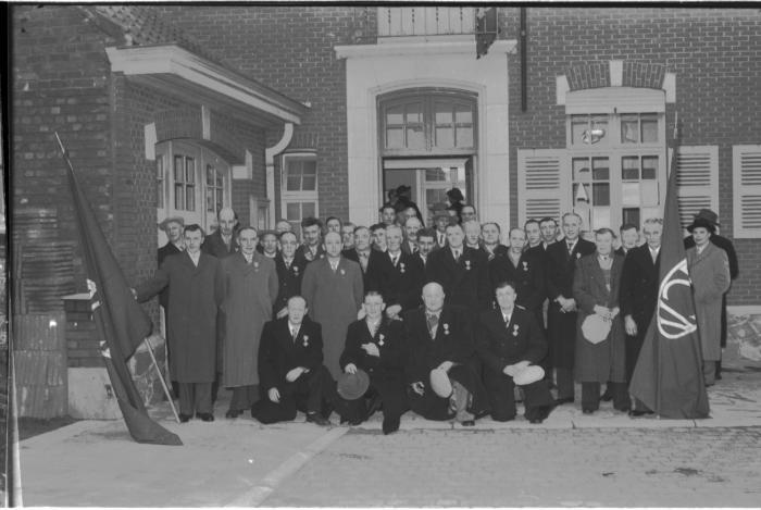 ACV Kachtem: groepsfoto, Kachtem 1957