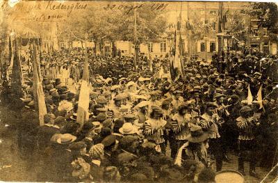 Rodenbachstoet, muziek der rederijkers, 1909