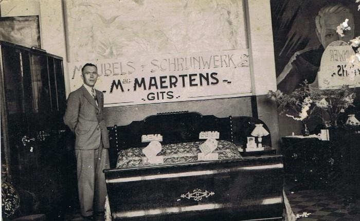Meubels en schrijnwerk, Maurits Maertens, Onledestraat 10 Gits