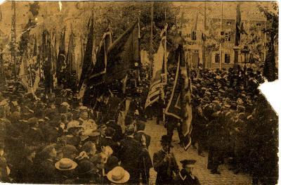 Rodenbachstoet, studenten, 1909