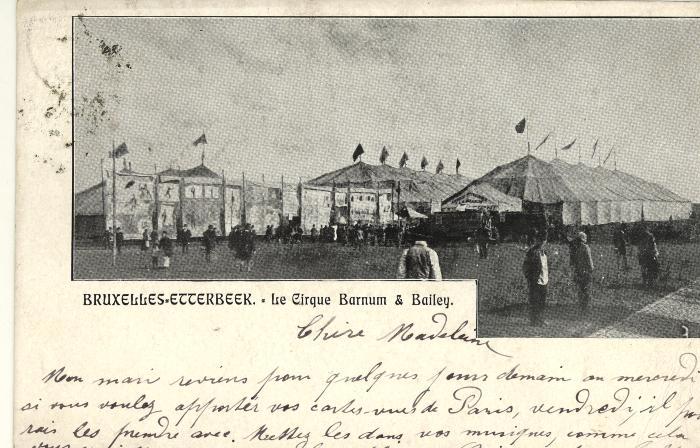 het Circus Barnum & Bailey in Brussel – Etterbeek
