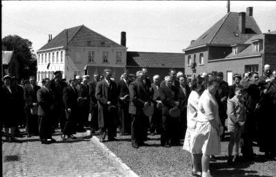 Herdenkingsviering ACV-ACW: overzicht deelnemers, Kachtem 1957