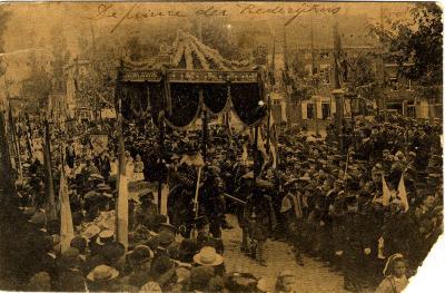 Rodenbachstoet, prins van de rederijkers, 1909