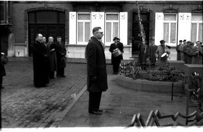 Harmonie Leo XIII onder leiding van Julien Renier, Izegem, 1959