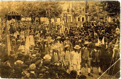 Rodenbachstoet, rederijkers, 1909