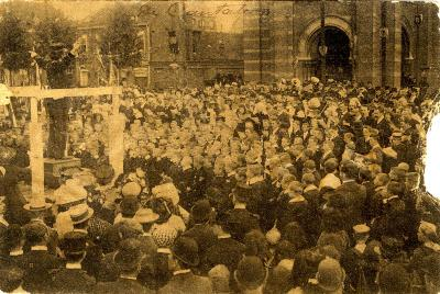 Rodenbachstoet, uitvoering cantate, 1909