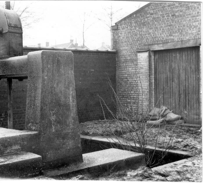 Onderdeel van sluis op Mandel, 1964-1965