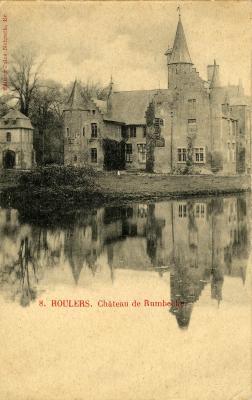 Kaasterkasteel Sterrebos, voor 1914