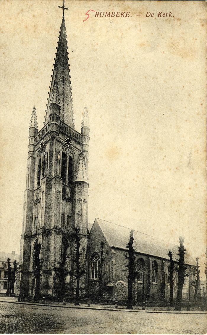 Sint-Petrus en Pauluskerk, voor 1914