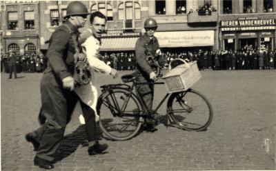 Oefening Passieve Luchtbescherming, wegleiden verdachte, 1938