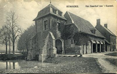 Koetshuis Kaasterkasteel Sterrebos, voor 1914
