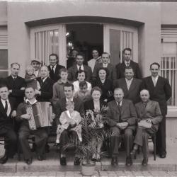 Kampioenviering 'Hof van Commerce': Victor Vermaut kampioen, Izegem 25 augustus 1957