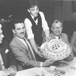 Feestmaal 75 jaar Club Roeselare, 1985