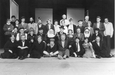Toneelgroep De Verenigde Vrienden speelt Peegie, 1984