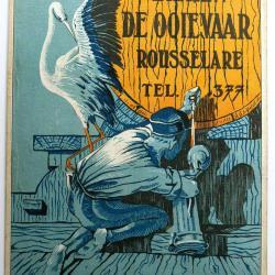 Reclame voor bieren De Ooievaar door J. de Chastellus