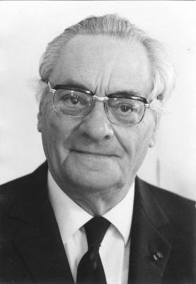 Burgemeester Robert De Man, ca. 1977