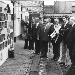 Tentoonstelling kunstacademie, 1974