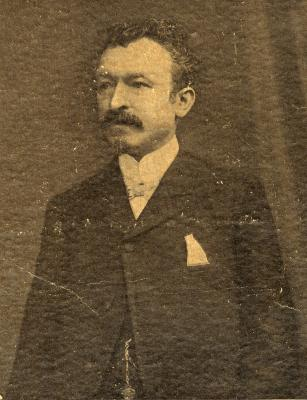 Schepen en dokter Juliaan Delbeke, 1908