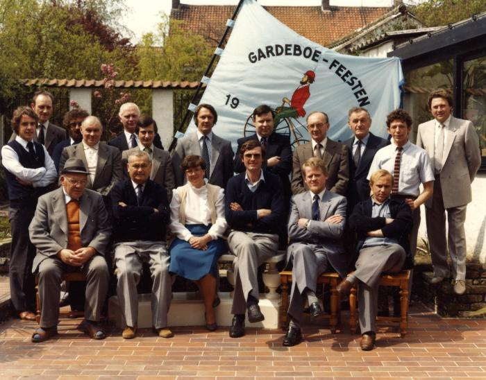 Bestuur Gardeboecomité, 1980