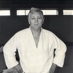 Judotrainer Roland Cambier, jaren 1980